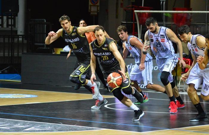 La Bergamo Basket in azione
