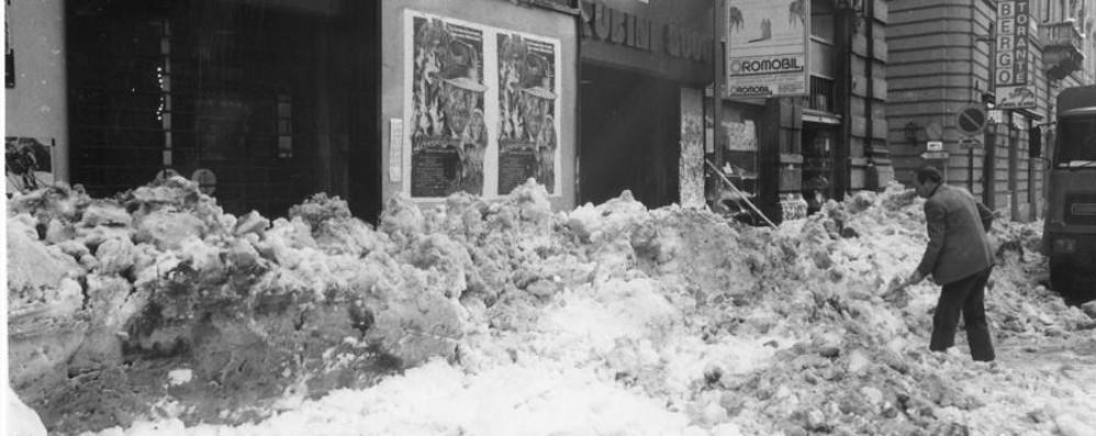 Trentatre anni fa, quanta neve  Ricordate la nevicata del secolo?