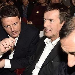 Renzi mette in guardia il centrodestra «Occhio a sottovalutare Giorgio Gori»
