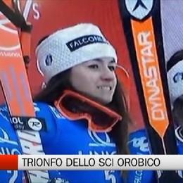 Sci, libera femminile - Bergamo sul podio