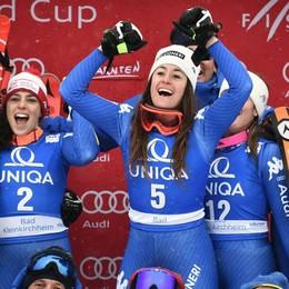 Sofia Goggia vince la discesa in Austria Dominio italiano, è tripletta azzurra – Foto