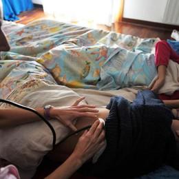 Influenza, ancora giorni di picco I bambini i primi ad essere colpiti