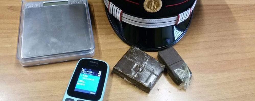 La droga negli slip, fermato in bici Arrestato 34enne in via Bonomelli