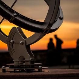 «Meridiana al tramonto...»