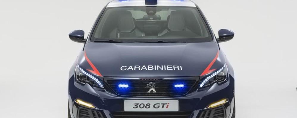 Nuove Peugeot per i Carabinieri  Versione speciale della 308 GTi