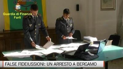Maxi operazione Gdf Forlì per false fatturazioni. Arrestato commercialista bergamasco