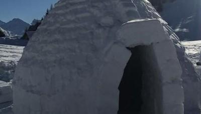 Richieste boom per dormire in igloo  Da Roma ad Aosta: «È incredibile»