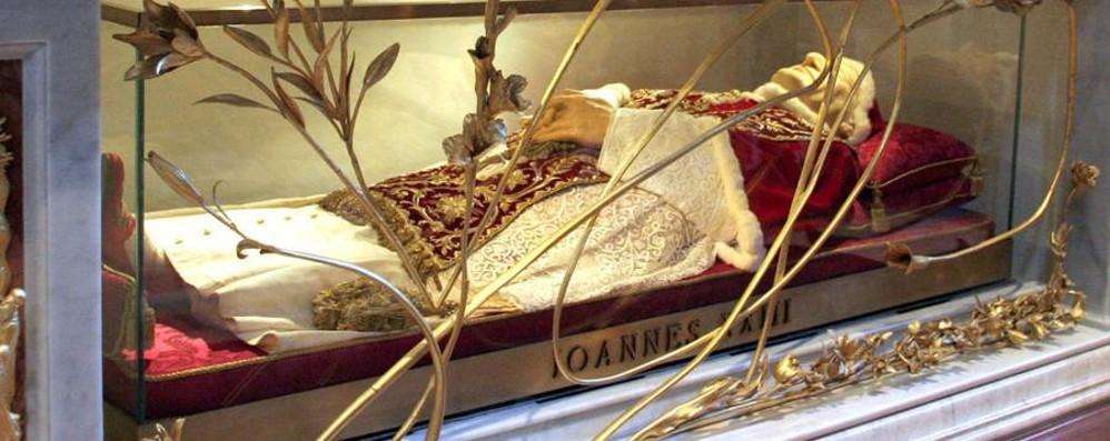 Bergamo riabbraccia Papa Giovanni «Un gesto d'amore di Papa Francesco»