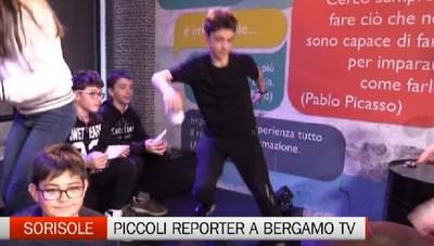 Piccoli reporter di Petosino a Bergamo Tv