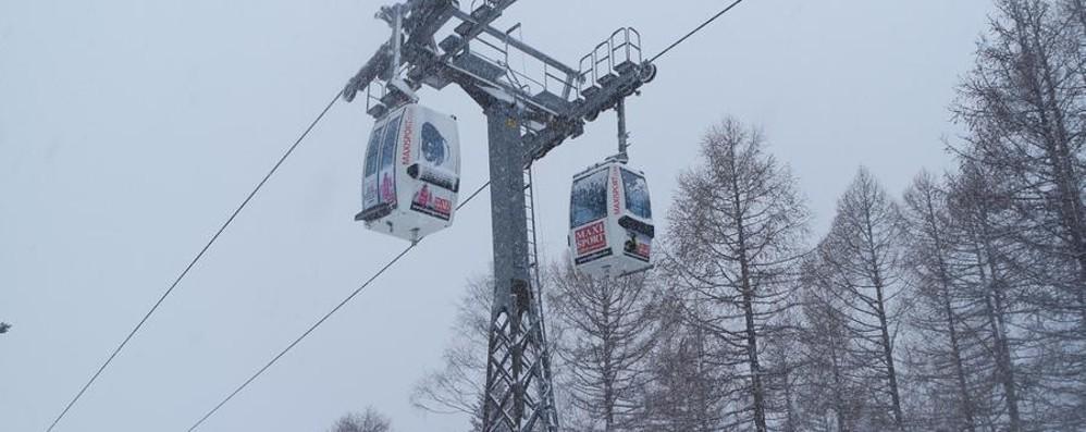 Troppo vento, bloccata la funivia 500 sciatori a valle col Soccorso alpino