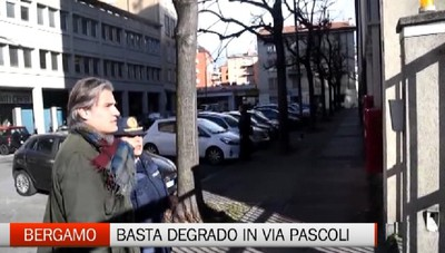 Via Pascoli restituita ai residenti Via il degrado - Guarda il video
