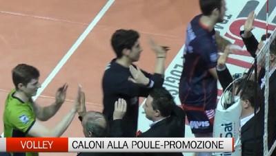 Volley, primo posto aritmetico per la Caloni Agnelli Bergamo