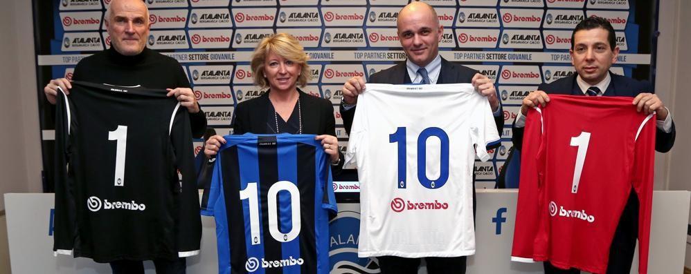 Atalanta, accordo con Brembo Partner del settore giovanile