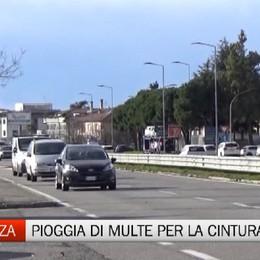 Bergamo - Una raffica di multe per Allacciati alla vita