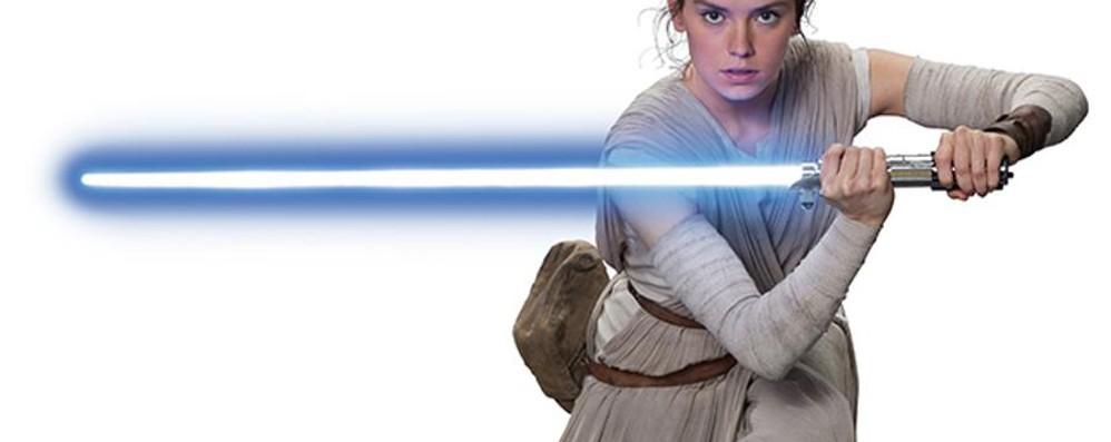 Sei pronto per addestrarti da Jedi? All'Esselunga (con la spada laser)