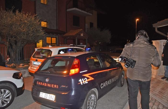 I carabinieri a VIlla d'Almè