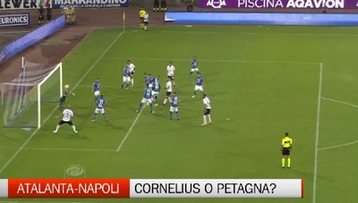Atalanta-Napoli, ballottaggio Cornelius-Petagna