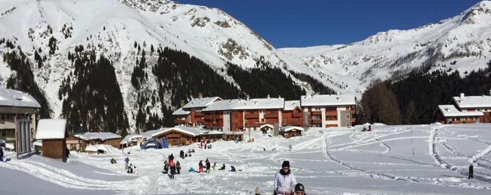 Che bel sole! Ma dura poco - Meteo Sabato allerta neve in Bergamasca