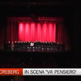 Nell'Italia della corruzione c'è un speranza  Creberg Teatro,  in scena «Va' pensiero»