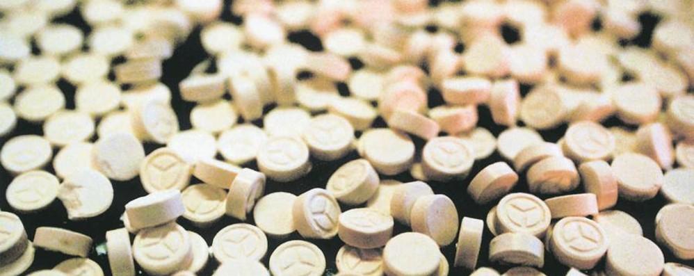 Sequestrati 2 chili di droga al giorno Bergamo 1ª per ecstasy in Lombardia