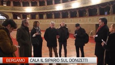 Il Donizetti chiude per restauri: arrivederci al 2019