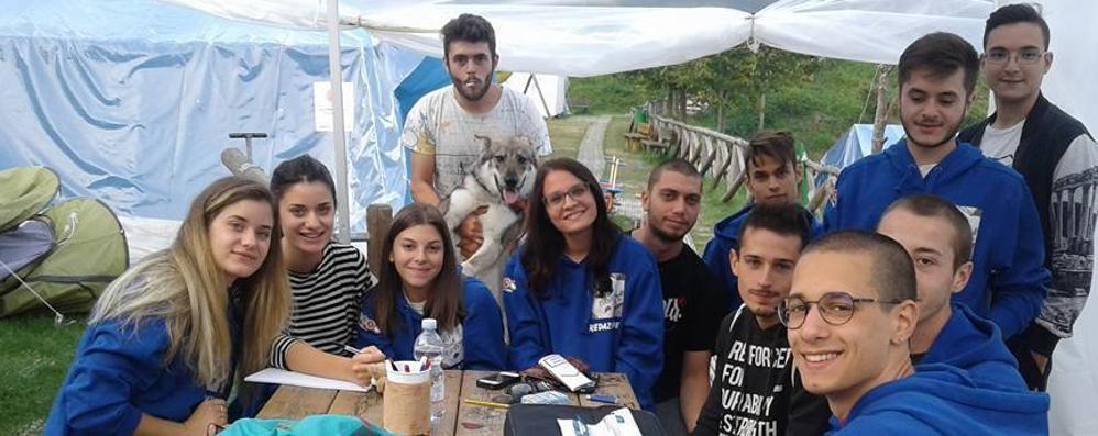 Il grande cuore dei giovani di Azzano Raccolti fondi per i terremotati di Arquata