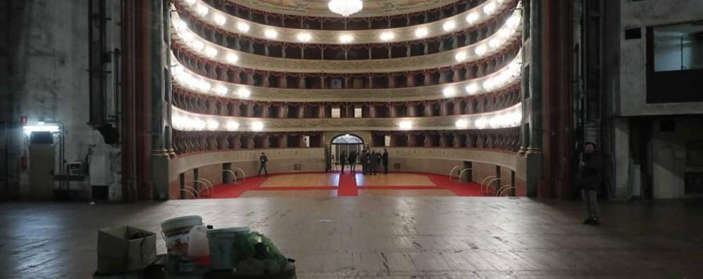 Ultimo saluto al Donizetti - Foto e video Lo rivedremo (col nuovo look) nel 2019