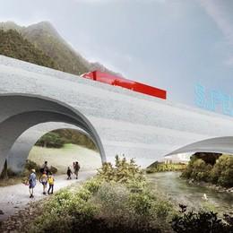 Val Brembana, si amplia la Sanpellegrino E costruisce un nuovo ponte a Zogno