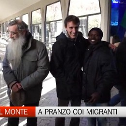 Tavola condivisa, migranti ospiti delle famiglie di Sotto il Monte