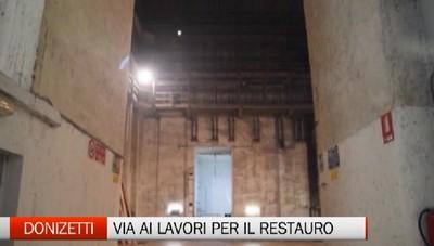 Bergamo - Consegnato il cantiere del Donizetti