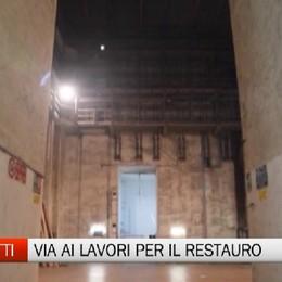 Consegnato il cantiere del Donizetti  Ora 20 mesi per un teatro rinnovato