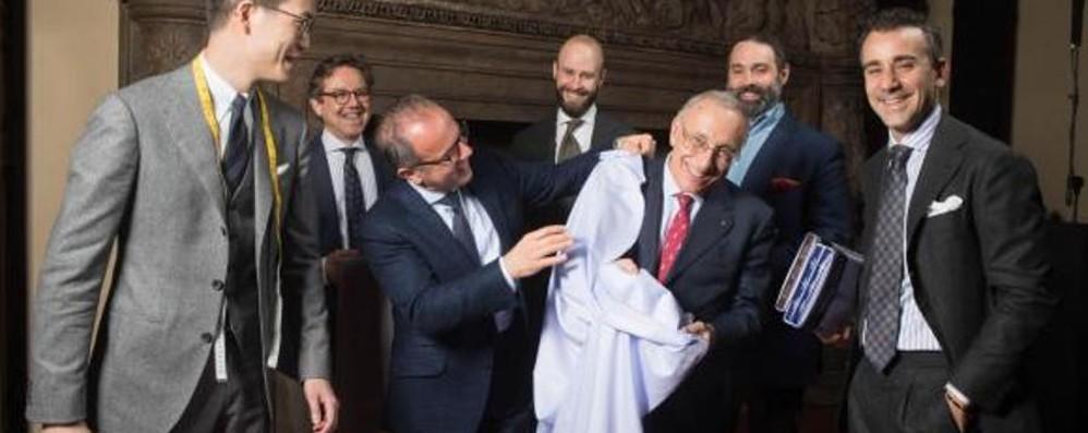 L'addio all'imprenditore Silvio Albini L'ultimo incontro pubblico al Pitti Uomo
