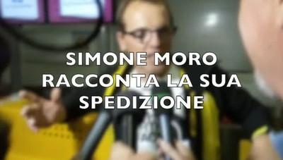 Simone Moro alla conquista della gelida vetta del Pobeda