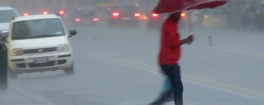 Bergamo, torna la pioggia da venerdì Non farà freddo, ancora neve sulle Alpi