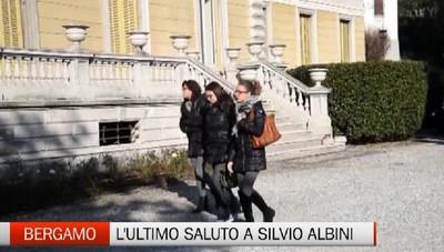 L'ultimo saluto a Silvio Albini. E anche via Montenapoleone si veste a lutto