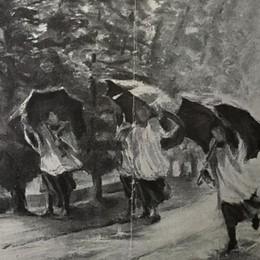 Si cerca un dipinto di Remigio Colombi Appello per la mostra di Gandino - Foto
