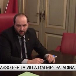 Viabilità - Firma Provincia-Anas per la Villa d'Almè-Paladina