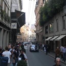 Il quadrilatero della moda ricorda Albini Milano, negozi aperti 10 minuti dopo