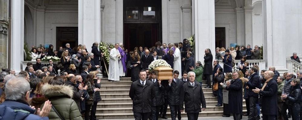 L'ultimo saluto a Silvio Albini Cattedrale gremita per i funerali
