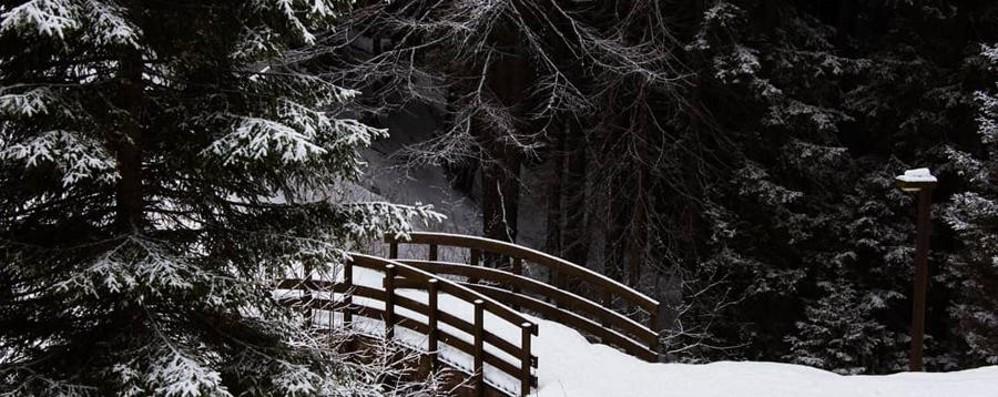 Possibili nevicate da 800 metri La Regione lancia l'allerta