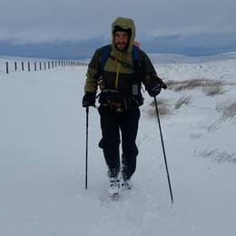 Neve e pioggia non fermano Bosatelli, 9° Percorre 430 km in 135 ore in Inghilterra