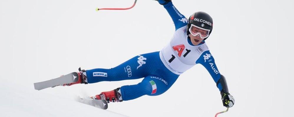 Ancora male Sofia Goggia  Fuori nello slalom gigante