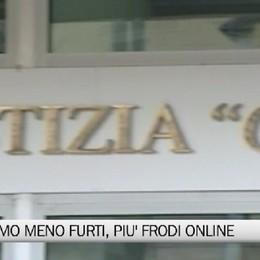 Criminalità a Bergamo: meno furti, più frodi informatiche