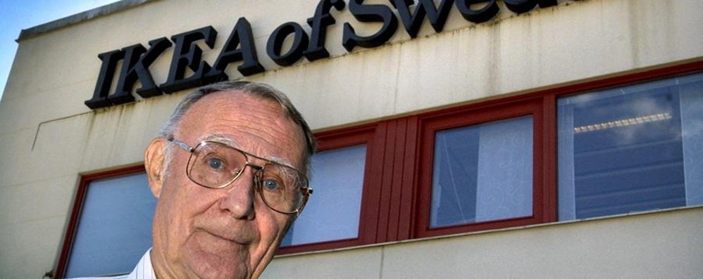 Ikea, morto il fondatore Ingvar Kamprad  Aveva 91 anni: l'annuncio sul sito