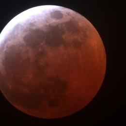 La «superluna» si veste di rosso Spettacolo nel cielo il 31 gennaio