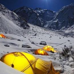 A Foppolo come sull'Himalaya In spedizione con Simone Moro