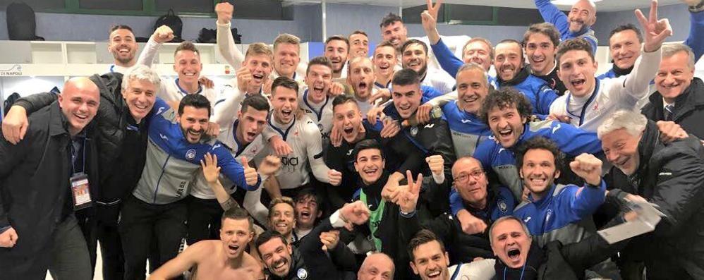 Vittoria storica dell'Atalanta a Napoli Castagne e Papu: nerazzurri in semifinale