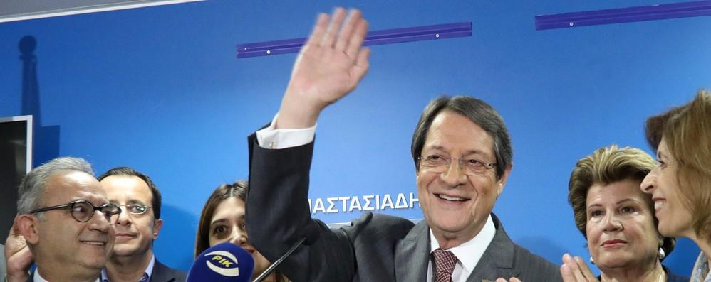 Cipro: presidente Anastasiades al ballottaggio con il 35,5%