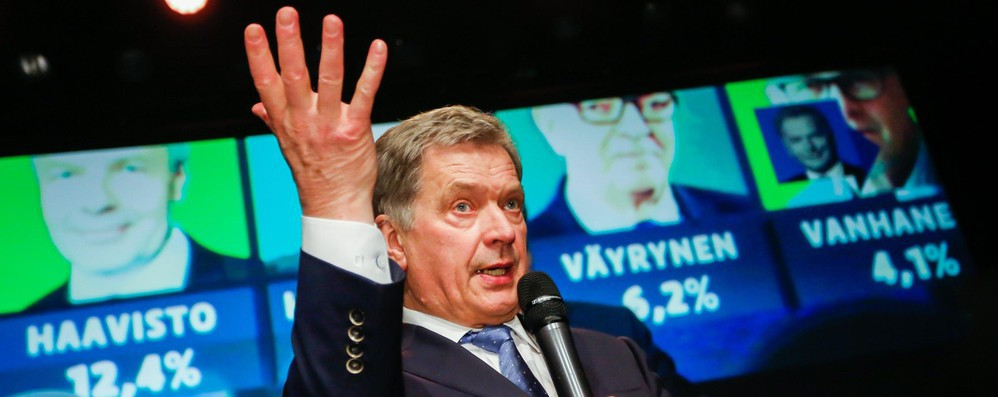 Finlandia: presidente Niinisto rieletto al primo turno