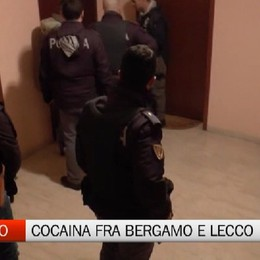 Spaccio di cocaina tra Bergamo e Lecco. Maxi operazione, sequestrati 231 mila €